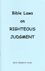 Bible Laws on Righteous Judgement