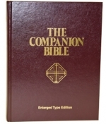 "The Companion Bible 1611 KJV (Large Print) 8.5"" x 11\"""