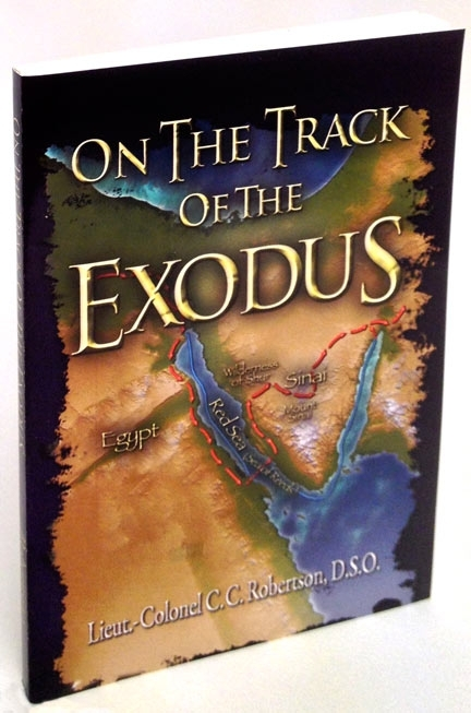 On The Track Of The Exodus Questions many long accepted details of this Important Event.<br>Enclosed Full Color Map!....