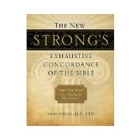 THE NEW STRONG'S EXHAUSTIVE <BR>CONCORDANCE OF THE BIBLE (LARGE PRINT)