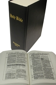 1611 King James Bible<br> [Black]...The First Edition of  the<br>King James Bible