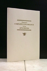 Cruden's Complete Concordance  To The Apocrypha [1761]