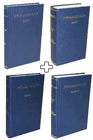 Four volume set of Pyramidology by <br>Adam Rutherford: Volumes I, II, III, IV