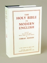 Ferrar Fenton Bible... Hardbound (shown)...Leatherette back in print!